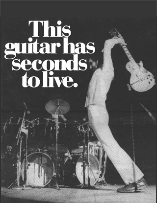 How NOT to hold a guitar