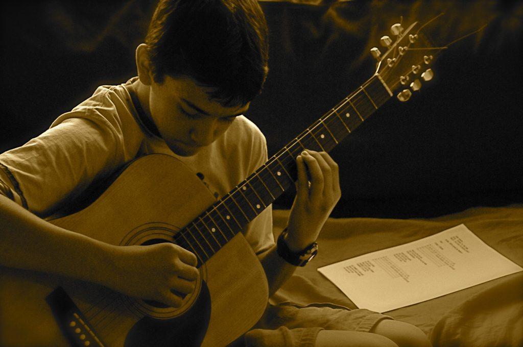best kids guitar songs