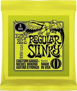 beginner electric guitar strings